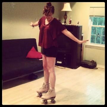 Cheryl Skating