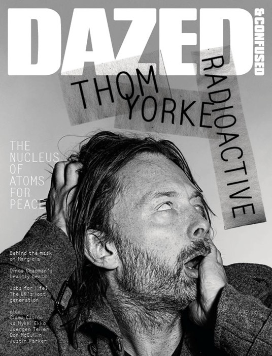 Thom Yorke by Richard Burbridge