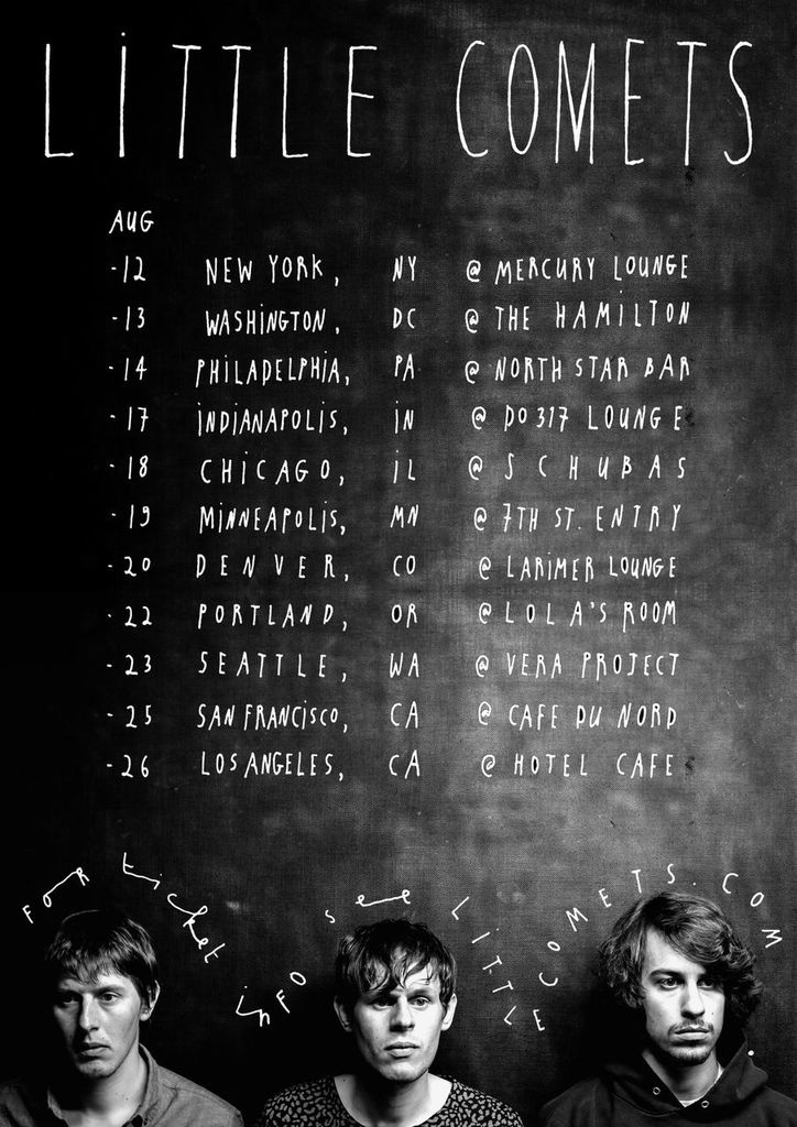 Little Comets Tour