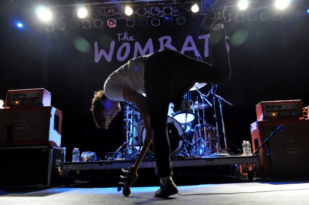The Wombats by Cher Dunn mylifeinsound