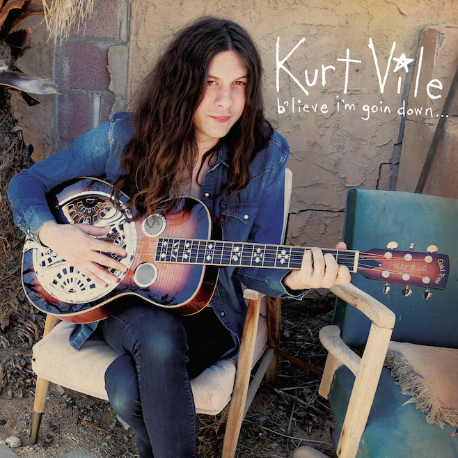 Kurt Vile's new album 'b'lieve i'm going down' is due out September 25th.
