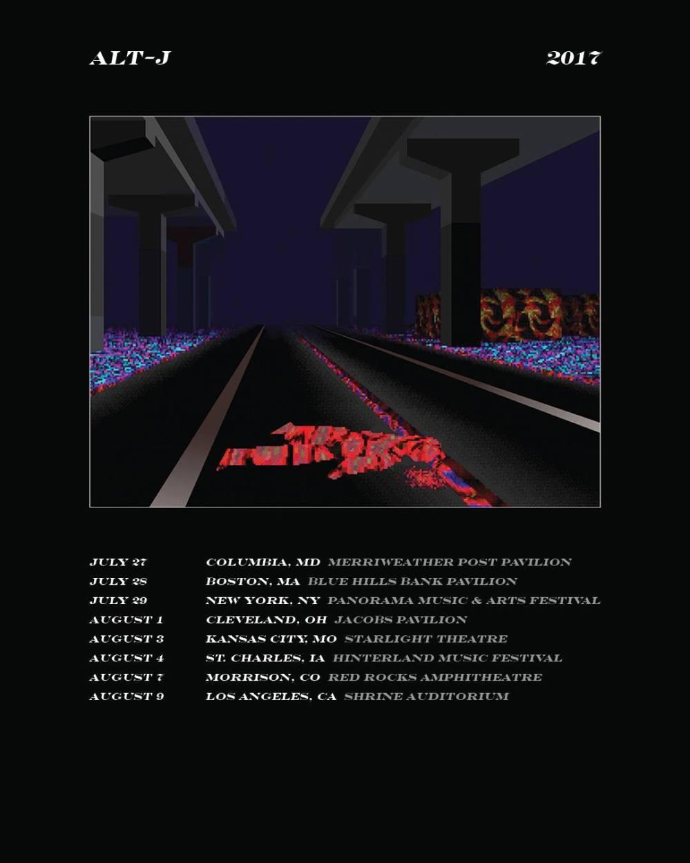 Alt J Tour