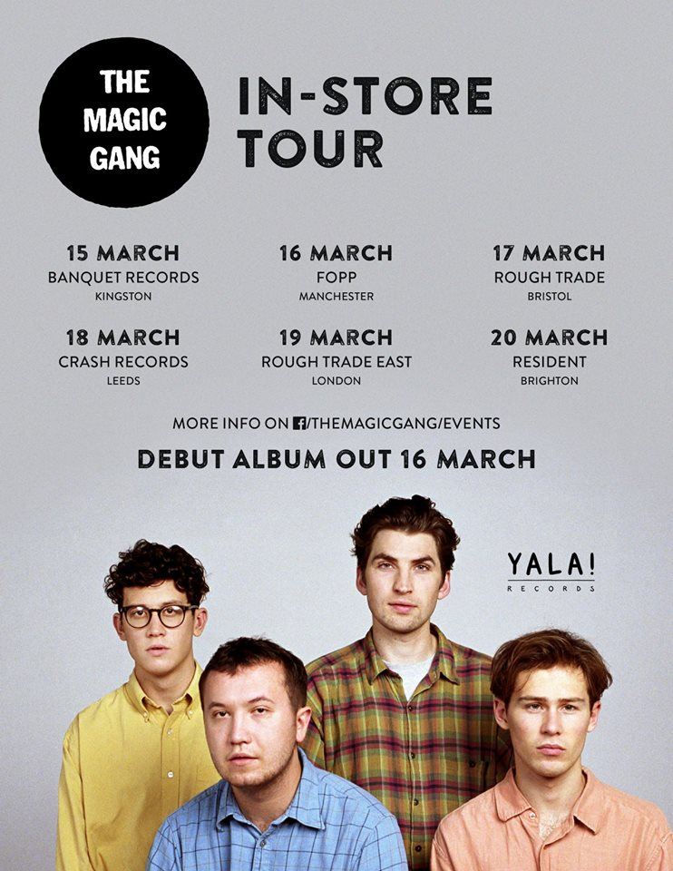 the magic gang tour
